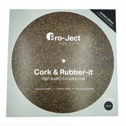 Pro-Ject Cork & Rubber It