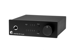 Pro-Ject Head Box S2 Digital Black - Raty 0% - Specjalne rabaty - Instal Audio Konin